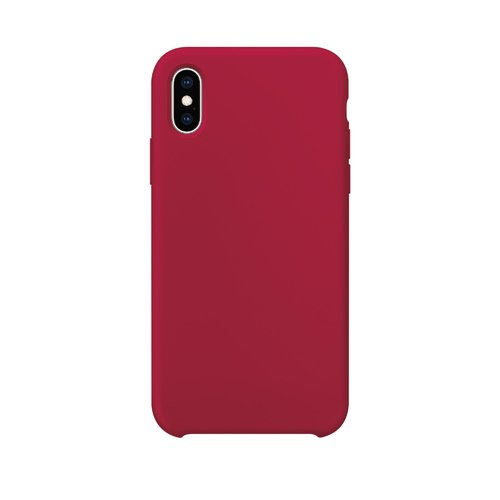 STRAX XQISIT Silicone iPhone X/XS Merlot Red iPhone X/XS Rot