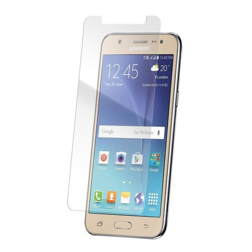 STRAX Glass Case-Fit Galaxy J5 (2016) Clear