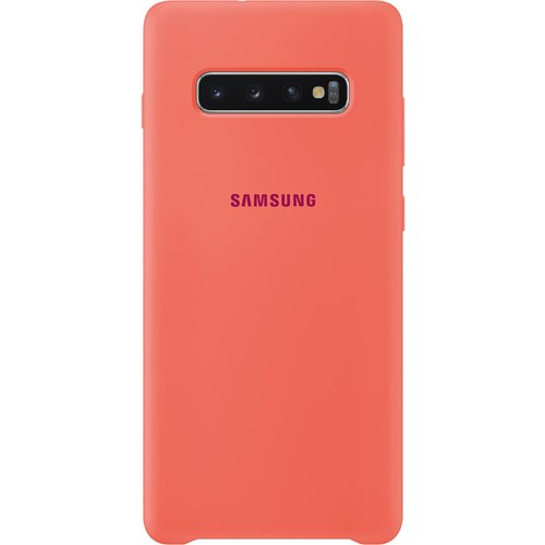 Samsung Silicone Cover Galaxy S10+ Berry Pink