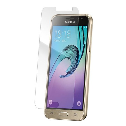 STRAX Glass Case-Fit Galaxy J3 (2016) Clear