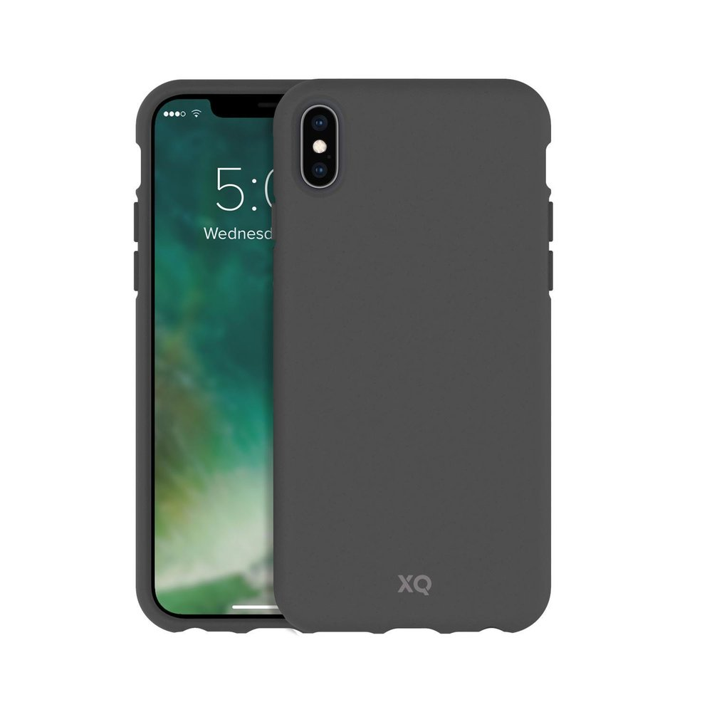 STRAX XQISIT ECO Flex iPhone X/XS Mountain Grey iPhone X/XS Grau