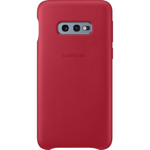 Samsung Leather Cover Galaxy S10 E Rot
